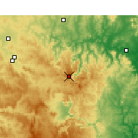 Nearby Forecast Locations - Nullo Mount. - Map