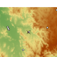 Nearby Forecast Locations - Tamworth - Map