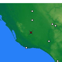 Nearby Forecast Locations - Mount Gambier - Map