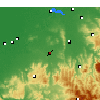 Nearby Forecast Locations - Benalla - Map