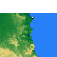 Nearby Forecast Locations - Cooktown - Map