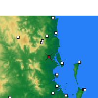 Nearby Forecast Locations - Beerburrum - Map