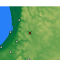 Nearby Forecast Locations - Collie - Map