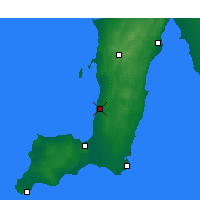 Nearby Forecast Locations - Roxby Downs - Map
