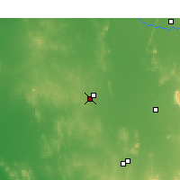 Nearby Forecast Locations - West Wyalong - Map