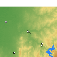 Nearby Forecast Locations - Dubbo - Map