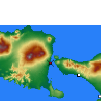 Nearby Forecast Locations - Banyuwangi - Map
