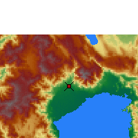 Nearby Forecast Locations - Masamba - Map