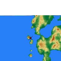Nearby Forecast Locations - Ternate - Map