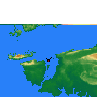 Nearby Forecast Locations - Sorong - Map