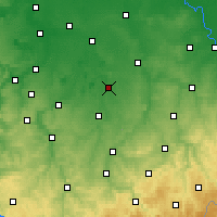 Nearby Forecast Locations - Borna - Map