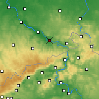 Nearby Forecast Locations - Pirna - Map