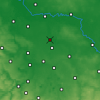 Nearby Forecast Locations - Bitterfeld - Map