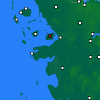 Nearby Forecast Locations - Nordstrand - Map