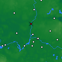 Nearby Forecast Locations - Oranienburg - Map