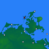 Nearby Forecast Locations - Hiddensee - Map
