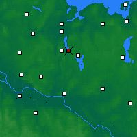 Nearby Forecast Locations - Ratzeburg - Map