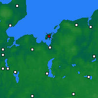 Nearby Forecast Locations - Poel - Map