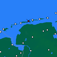 Nearby Forecast Locations - Baltrum - Map