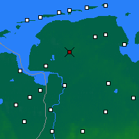 Nearby Forecast Locations - Aurich - Map