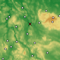 Nearby Forecast Locations - Northeim - Map
