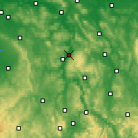 Nearby Forecast Locations - Holzminden - Map