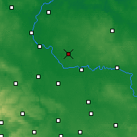 Nearby Forecast Locations - Zerbst - Map