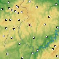 Nearby Forecast Locations - Prüm - Map