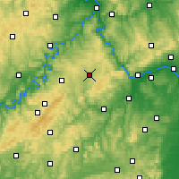 Nearby Forecast Locations - Simmern - Map