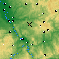 Nearby Forecast Locations - Altenkirchen - Map