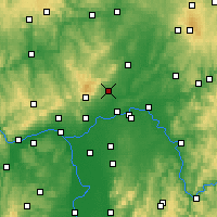 Nearby Forecast Locations - Bad Homburg vor der Höhe - Map