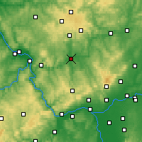 Nearby Forecast Locations - Limburg - Map