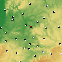 Nearby Forecast Locations - Obersulm - Map