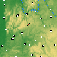Nearby Forecast Locations - Buchen - Map