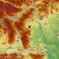 Nearby Forecast Locations - Voitsberg - Map