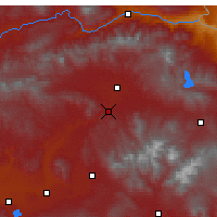 Nearby Forecast Locations - Hamur - Map