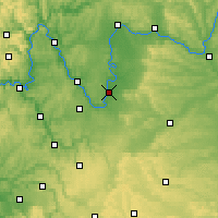 Nearby Forecast Locations - Kitzingen - Map