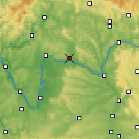 Nearby Forecast Locations - Haßfurt - Map