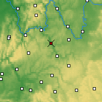 Nearby Forecast Locations - Tauberbischofsheim - Map
