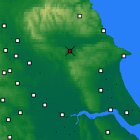 Nearby Forecast Locations - Malton - Map