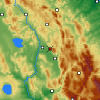 Nearby Forecast Locations - Assisi - Map