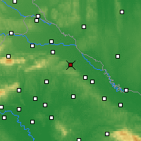 Nearby Forecast Locations - Koprivnica - Map
