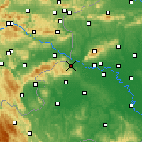 Nearby Forecast Locations - Samobor - Map