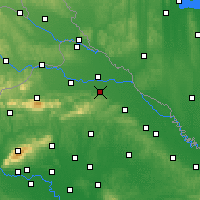 Nearby Forecast Locations - Ludbreg - Map