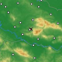 Nearby Forecast Locations - Pakrac - Map