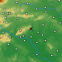 Nearby Forecast Locations - Sveti Ivan Zelina - Map