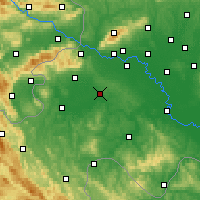 Nearby Forecast Locations - Pisarovina - Map