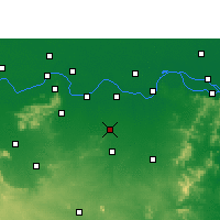 Nearby Forecast Locations - Amarpur - Map