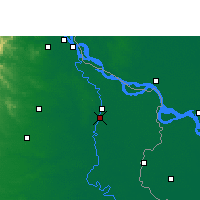 Nearby Forecast Locations - Baharampur - Map