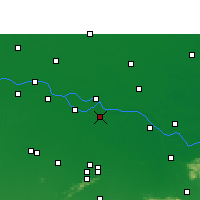 Nearby Forecast Locations - Bakhtiarpur - Map